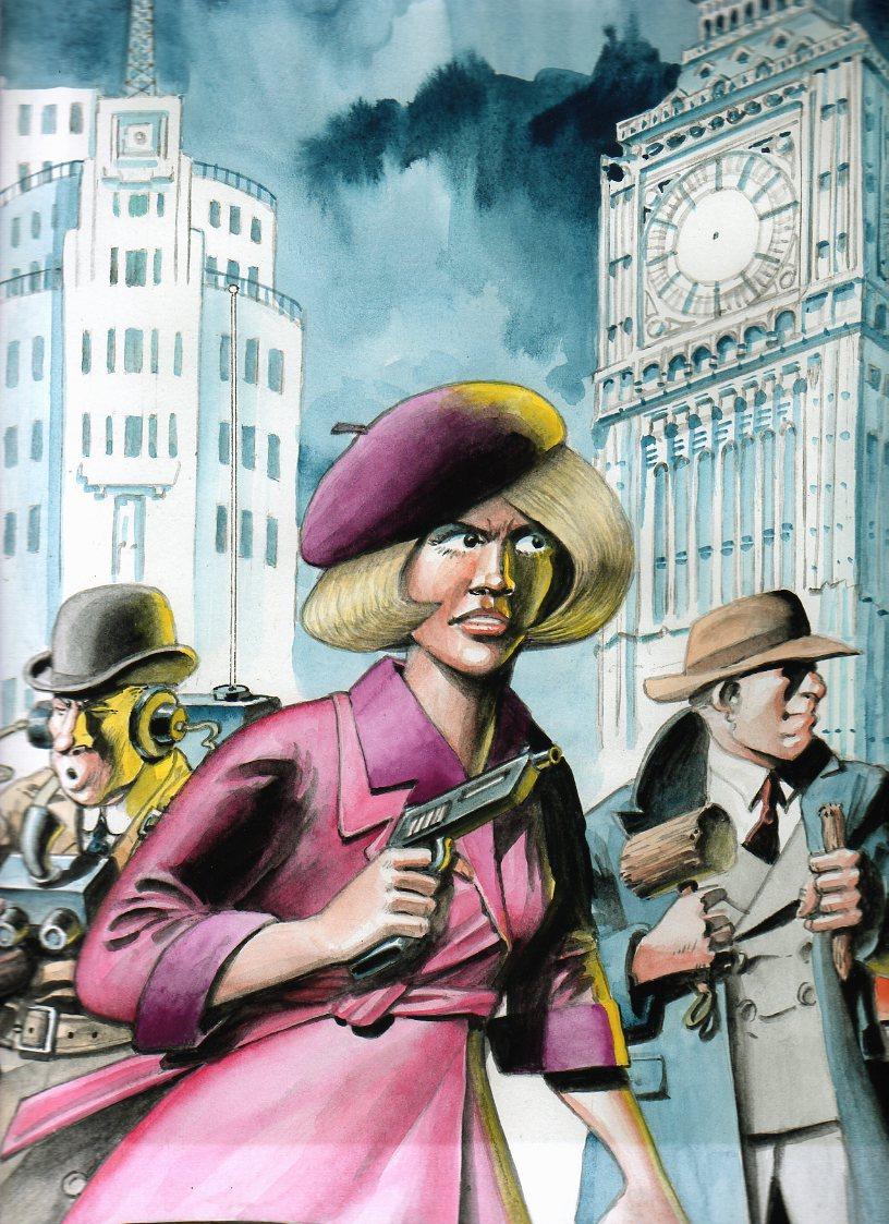 London Calling Promotional Art