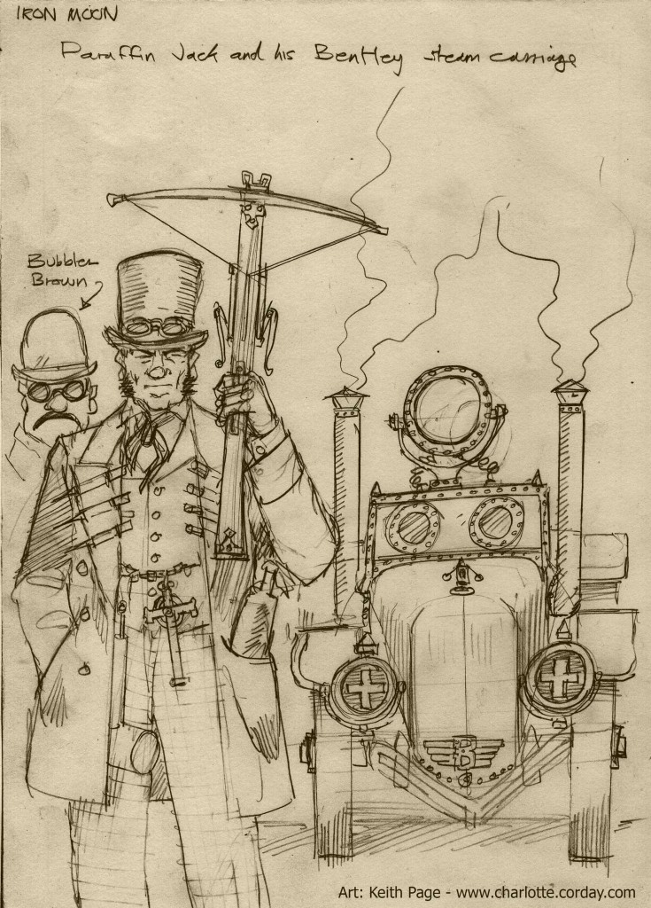 Paraffin Jack -Steampunk Version
