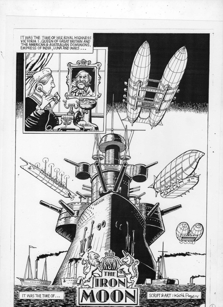 The Unpublished Iron Moon Page 1