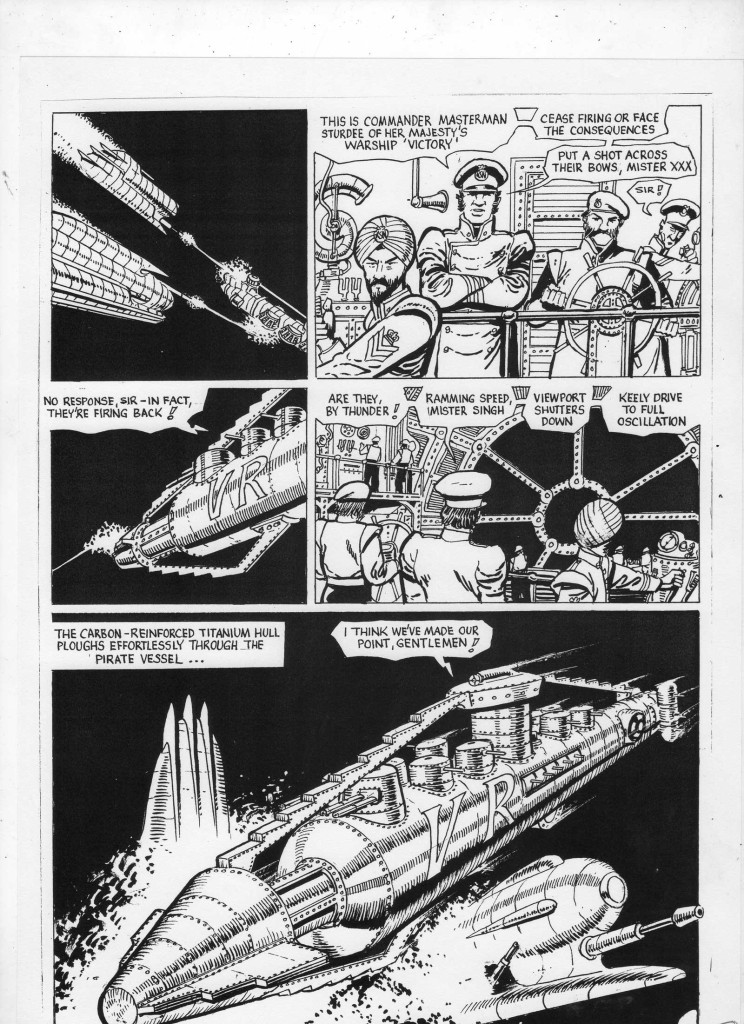 The Unpublished Iron Moon Page 3