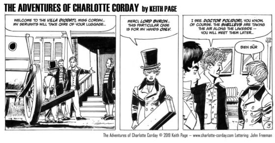 The Adventures of Charlotte Corday by Keith Page – Episode 3