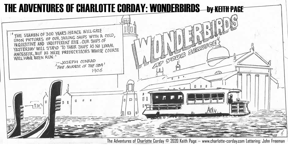 Charlotte Corday - Wonderbirds at Your Service