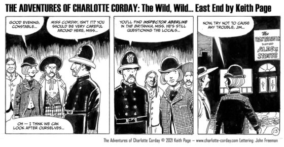 """The Wild, Wild… East End!"""