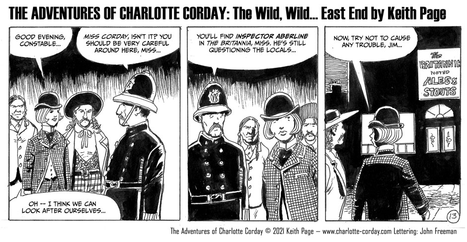 """""""The Wild, Wild… East End!"""""""